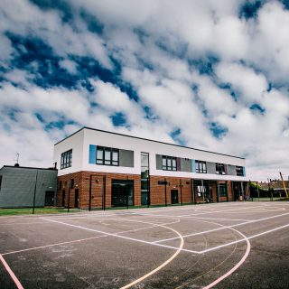 Exterior view of Springwell Alternative Academy Grantham