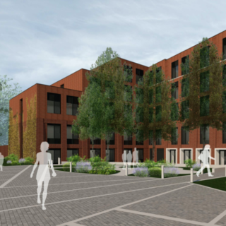 3D Mock-Up of Selly Hill Road Development